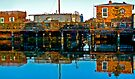 Houseboats, Gate 6, Sausalito, California, USA by Scott Johnson