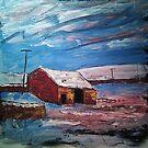 'Field Barn, Hebden' by Martin Williamson (©cobbybrook)