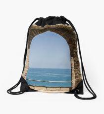 Through the Gate  Drawstring Bag