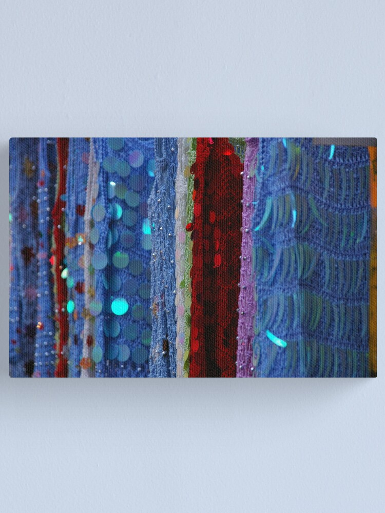 Alternate view of Shimmer + Glimmer = Glamour Canvas Print