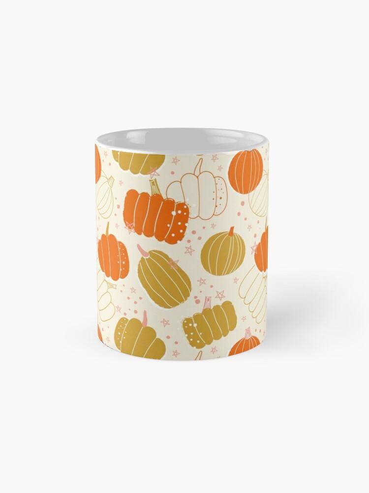 Alternate view of Halloween Cute Pumpkins, halloween gift for woman, halloween home deco, halloween pumpkins, halloween bright color, halloween gifts for woman Mug