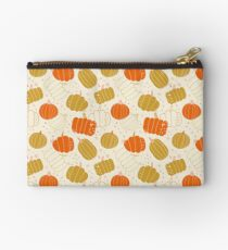 Halloween Cute Pumpkins Zipper Pouch