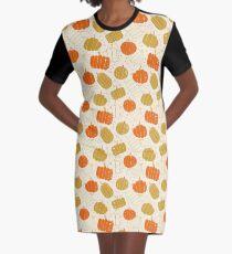 Halloween Cute Pumpkins, halloween gift for woman, halloween home deco, halloween pumpkins, halloween bright color, halloween gifts for woman Graphic T-Shirt Dress
