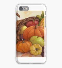 Cornucopia - harvest bounty. iPhone Case/Skin