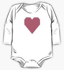 Roségold Baby Body Langarm