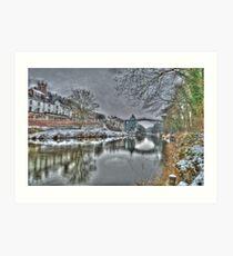 ironbridge Art Print