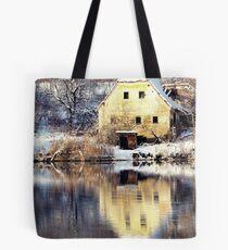 Yellow House Tote Bag