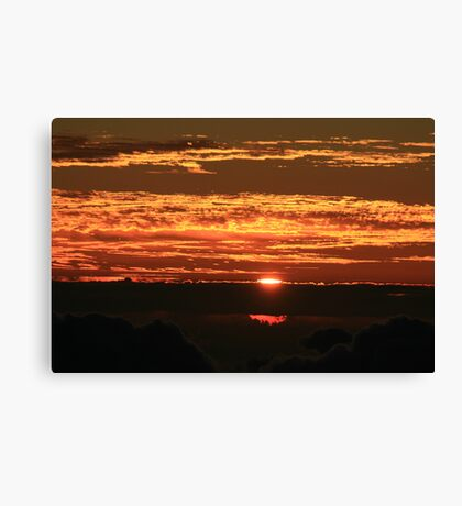 Sunrise on Haleakala Canvas Print