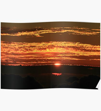 Sunrise on Haleakala Poster