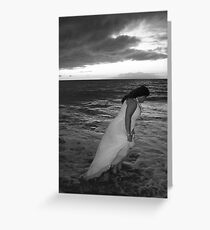 Stormy Bride Greeting Card