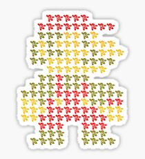 Mega-Mario-Man Sticker