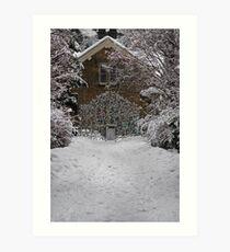 East Gate - Royal Botanic Gardens Edinburgh Art Print