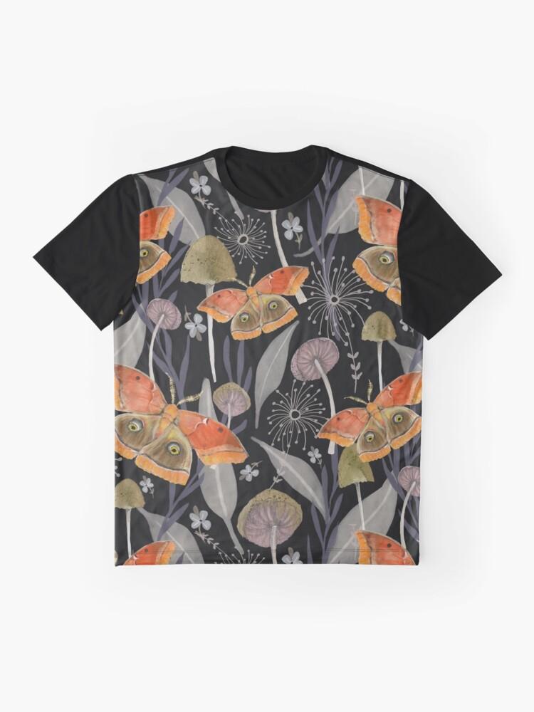 Alternate view of Midnight Moth Graphic T-Shirt