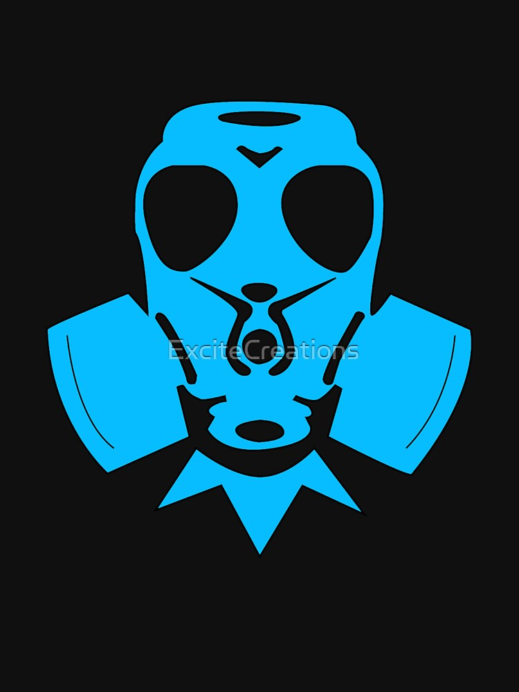 Blue Gasmask by ExciteCreations