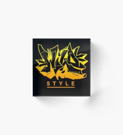 Wild Style - AU ver0.3 Acrylic Block