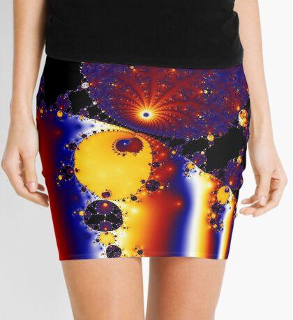 Strange Attractor II Mini Skirt