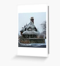 The Corner House.... Greeting Card