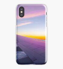 Plane flight iPhone Case/Skin