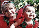 Little Girls -Santa Helpers- #1 by Evita