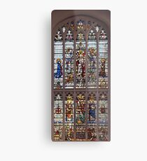 Stained Glass Window Photography 0005 Metal Print