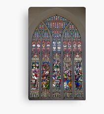 Stained Glass Window Photography 0007 Canvas Print