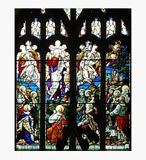 Stained Glass Window Photography 0009 Photographic Print