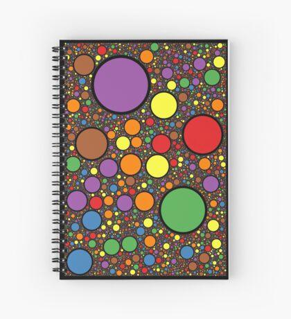 Circle Packing 214 Spiral Notebook