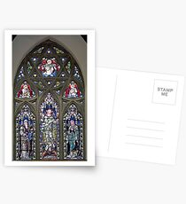 Stained Glass Window Photography 0012 Postcards