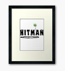 "Marijuana ""Hitman"" Framed Print"