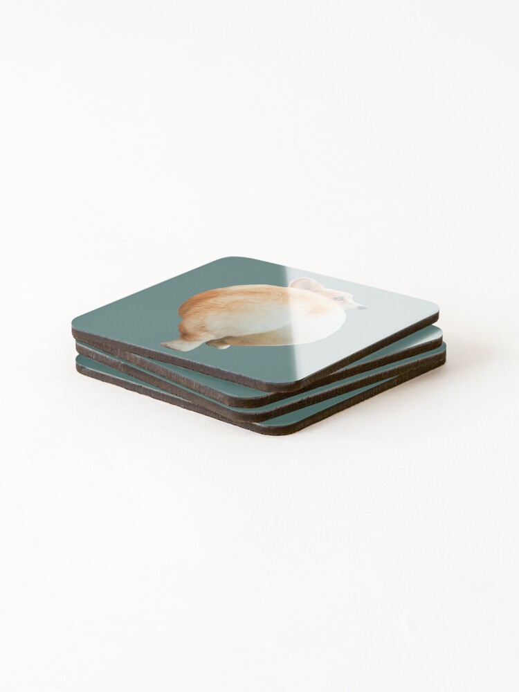 Alternate view of Corgi Butt Coasters (Set of 4)
