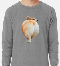 Corgi Butt Lightweight Sweatshirt