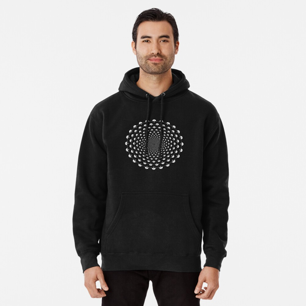 Stoic Stillness - Be Calm - Against The Chaos Pullover Hoodie