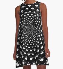 Stoic Stillness - Be Calm - Against The Chaos A-Line Dress
