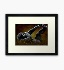 """Just Chillin'..."" Framed Print"