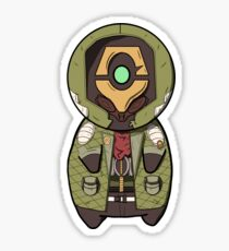 Chibi FLAK Sticker