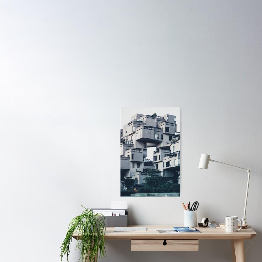 Habitat 67, Montreal Poster