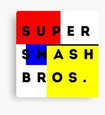 Super Smash Bros. Canvas Print