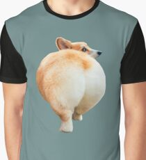 Corgi Butt Graphic T-Shirt