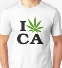 I Love Marijuana California Cannabis T-Shirt