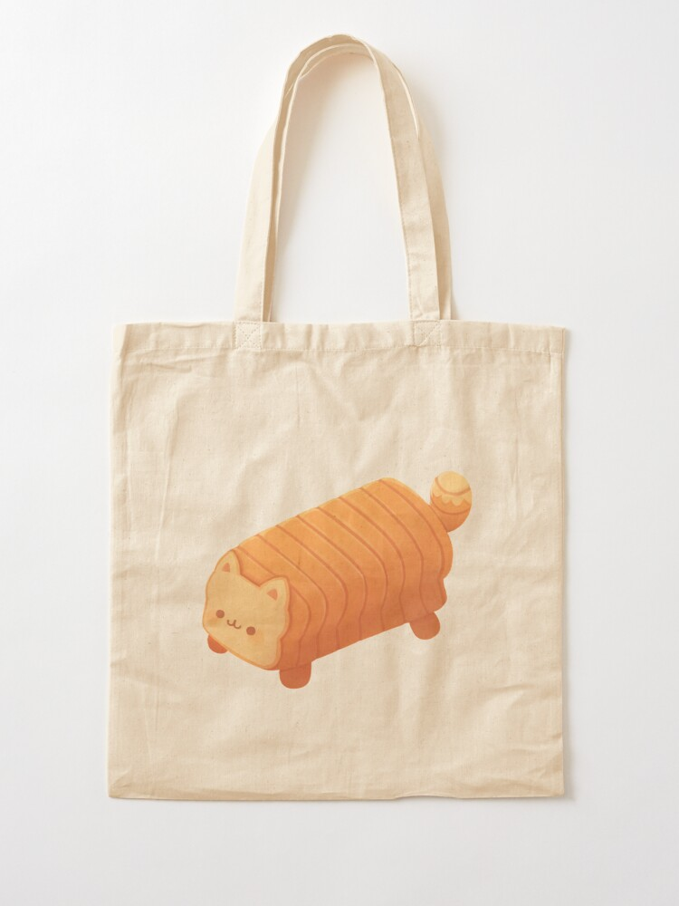 Alternate view of Cat Loaf - Meow Bread Tote Bag