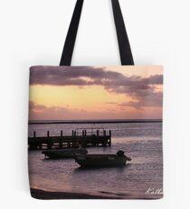 Kalbarri Jetty at Sunset Tote Bag