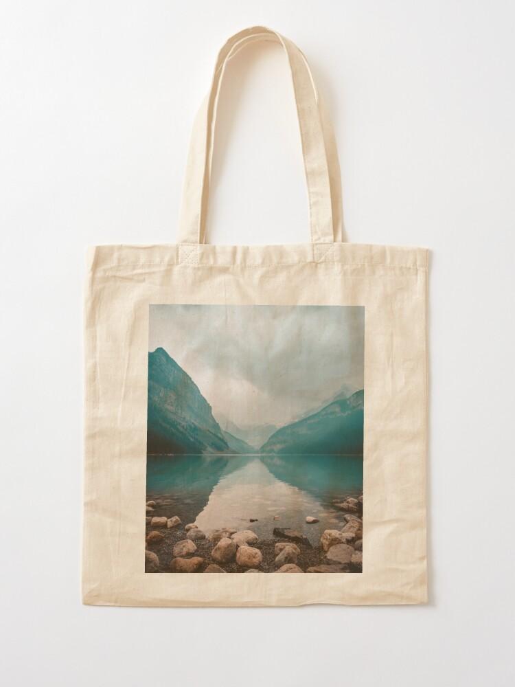 Alternate view of Lake Louise, Canada Tote Bag
