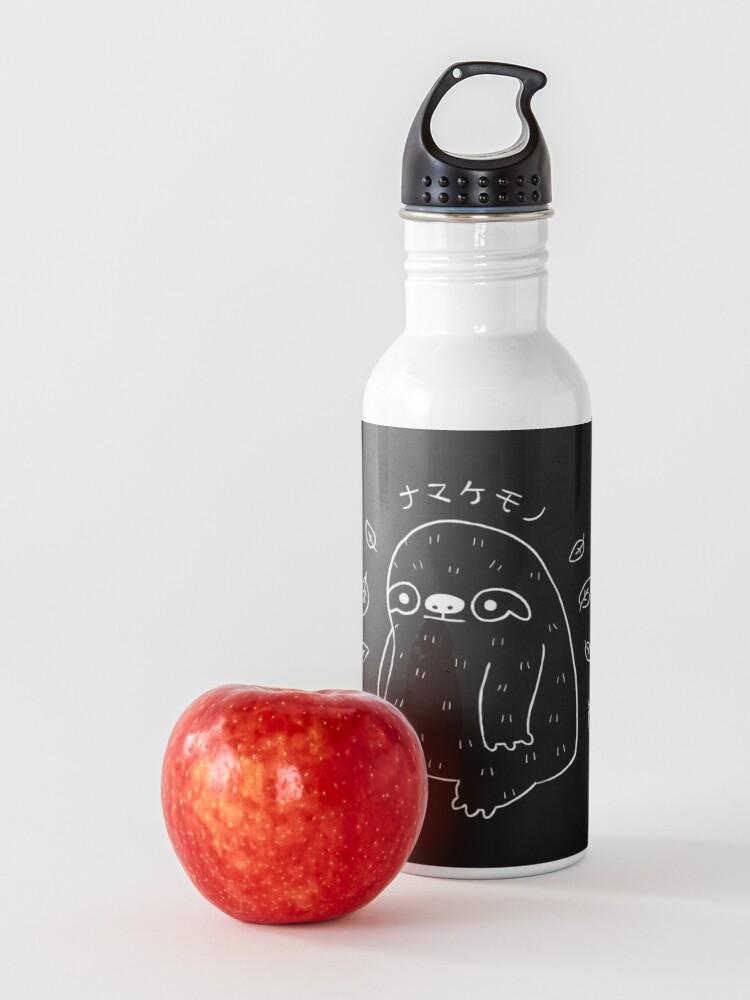 Alternate view of Monochrome Sloth - Simple Art v2.0 Water Bottle