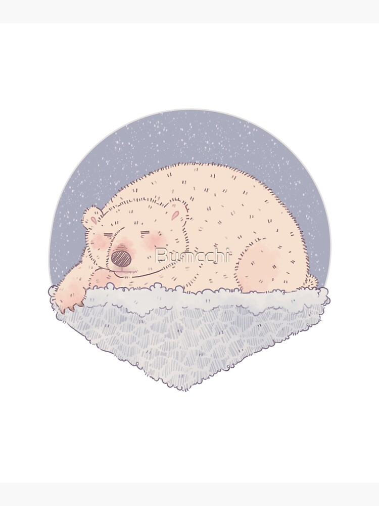 Sleeping Polar Bear  by Bumcchi