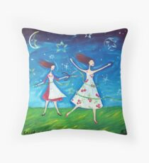 Cutting the Apron Strings Throw Pillow