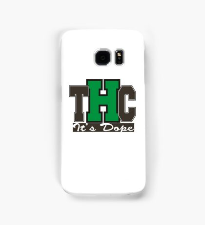 THC Marijuana Samsung Galaxy Case/Skin