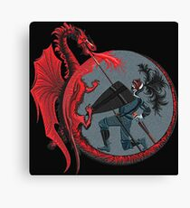 Red Dragon Canvas Print