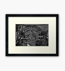 Mouth of The Monster Framed Print
