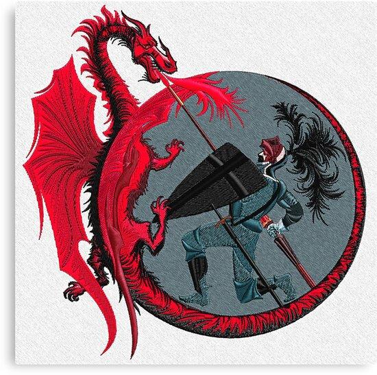 Dragon Slayer by Walter Colvin