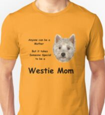Westie MOM 2 Unisex T-Shirt